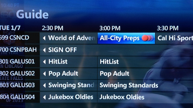 Channel guide 4